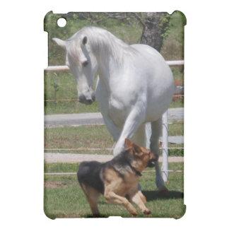 馬及び犬の演劇 iPad MINIケース