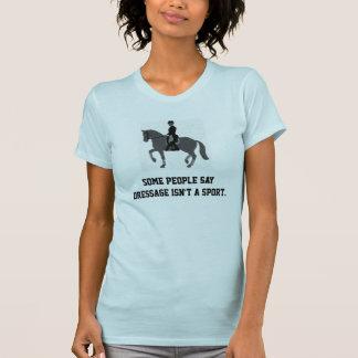 馬場馬術のアスリート Tシャツ
