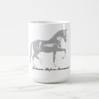 馬場馬術のマグ コーヒーマグカップ