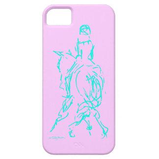 馬場馬術の半分のパスの水の電話箱 iPhone SE/5/5s ケース