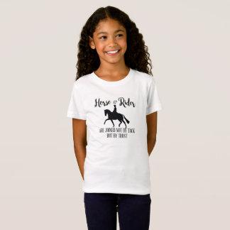 馬場馬術の馬およびライダーの引用文 Tシャツ
