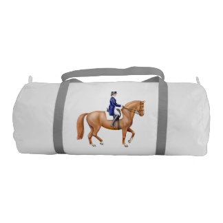 馬場馬術の馬の乗馬のDuffleバッグ ジムバッグ