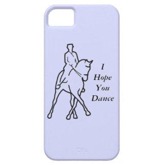 馬場馬術の馬の半分のパス-あなたが踊るIの希望 iPhone SE/5/5s ケース