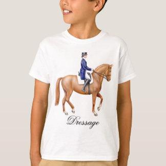 馬場馬術の馬はTシャツをからかいます Tシャツ