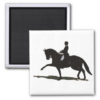 馬場馬術の馬及びライダー マグネット