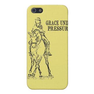 馬場馬術の馬及びライダー-優美重圧の下で iPhone 5 ケース