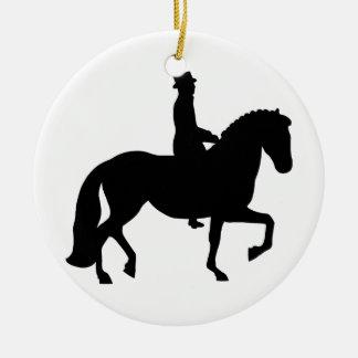 馬場馬術の馬 セラミックオーナメント