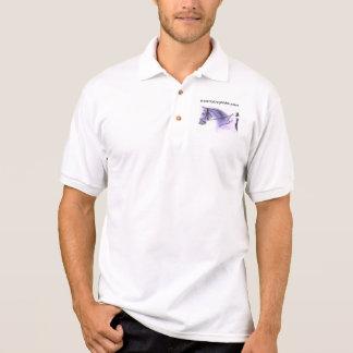 馬場馬術の馬 ポロシャツ
