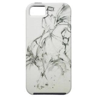 馬場馬術の馬 iPhone SE/5/5s ケース