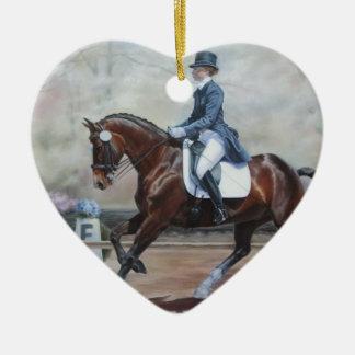 馬場馬術のWinsor セラミックオーナメント