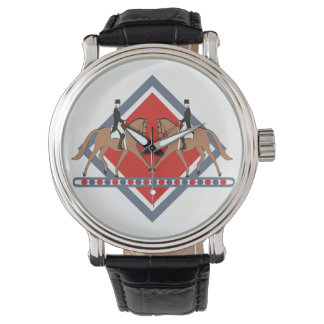 馬場馬術はあなた自身をスポーツの腕時計伸ばします 腕時計
