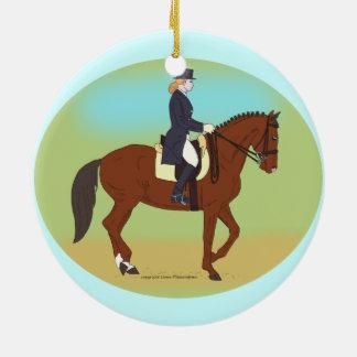 馬場馬術 セラミックオーナメント