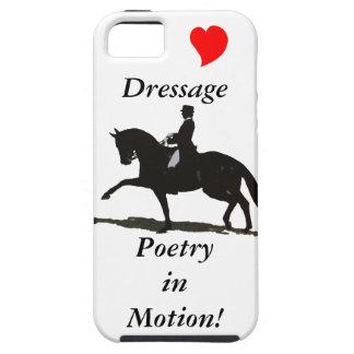 馬場馬術-動きのiPhone 5の場合の詩歌 iPhone SE/5/5s ケース