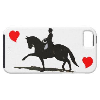 馬場馬術-馬およびライダーのiPhone 5の場合 iPhone SE/5/5s ケース