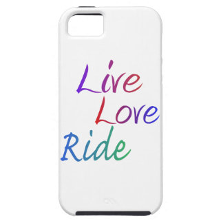 馬好きのための生きている愛乗車 iPhone SE/5/5s ケース