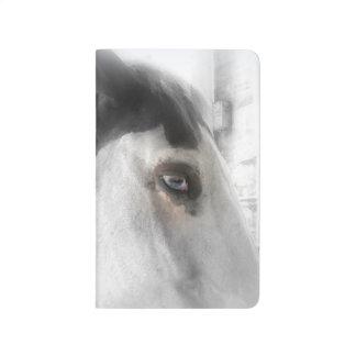 馬好きの小型ジャーナル ポケットジャーナル