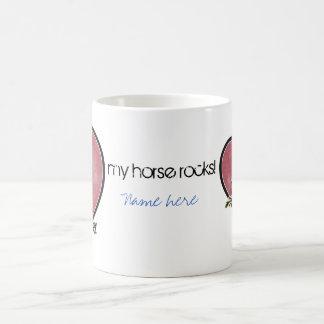 馬好き コーヒーマグカップ
