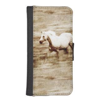 馬好き iPhoneSE/5/5sウォレットケース