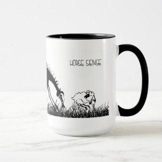 馬感覚のマグ マグカップ