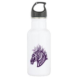 馬頭部のシルエット ウォーターボトル