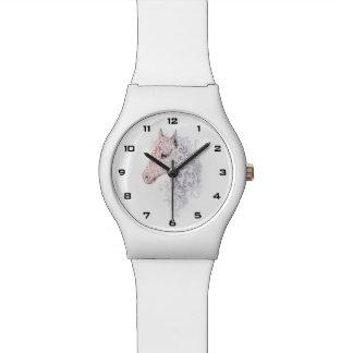 馬頭部の入れ墨May28thの腕時計 腕時計