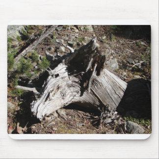 馬頭部の形の流木 マウスパッド