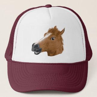 馬頭部の気色悪いマスク キャップ