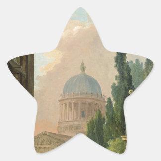 馬飼いならされたののローマの想像眺め 星シール