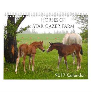 馬2017のカレンダー カレンダー