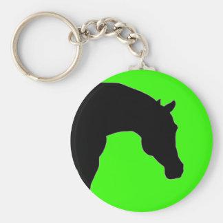 """""""馬""""のライムのkeychain キーホルダー"""