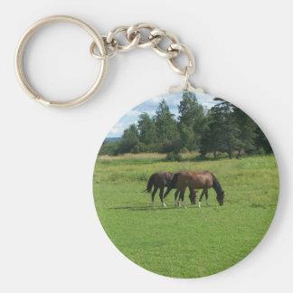 馬 キーホルダー