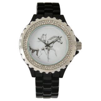 馬、乗馬の新しい 腕時計