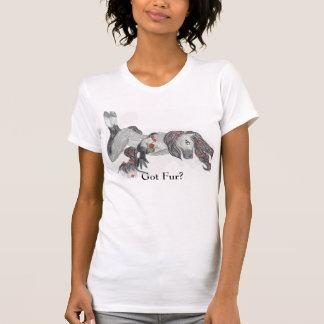 馬、得られた毛皮か。 Tシャツ