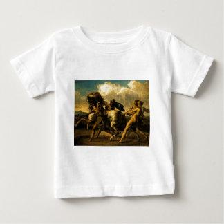 馬、競争のための勉強をストップ奴隷 ベビーTシャツ