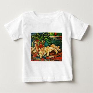 駅の猫-トレド、スペイン ベビーTシャツ