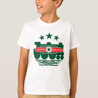駅長 Tシャツ