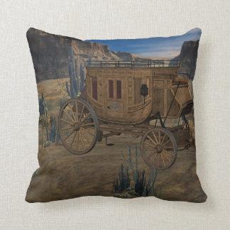 駅馬車のMoJoの古い西の装飾用クッション クッション