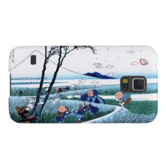 駿河国Katsushika HokusaiのEjiri Galaxy S5 ケース