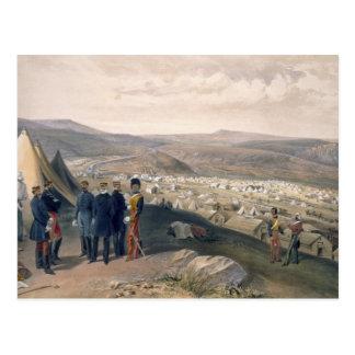 騎兵隊は「Eの戦争の座席からキャンプしましたり、めっきします ポストカード