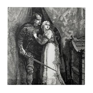 騎士および公平に娘 タイル