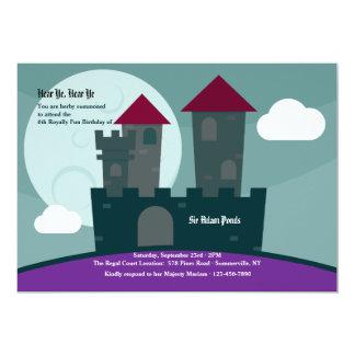 騎士の城の招待状 カード
