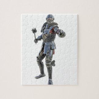 騎士は彼の反対者に挑戦します ジグソーパズル