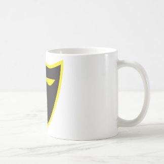 騎士夜警の記号か盾 コーヒーマグカップ