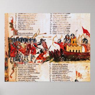 騎士戦い ポスター