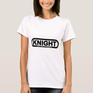 騎士競争フレームのロゴ Tシャツ