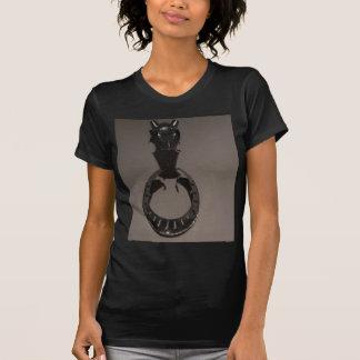 騎士装甲コレクション: 馬のマスク Tシャツ