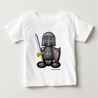 騎士(明白な) ベビーTシャツ