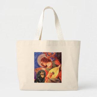 騎士(BT) -マンドリンの天使 ラージトートバッグ