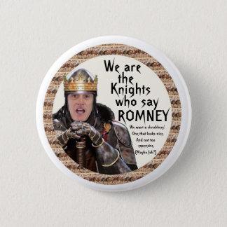 騎士Romneyを言う 5.7cm 丸型バッジ