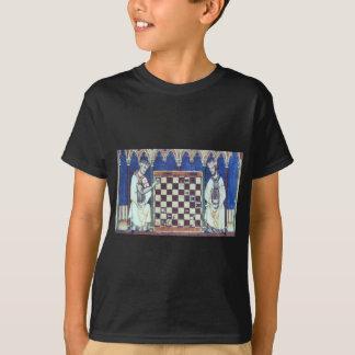 騎士Templarのチェスのギャング Tシャツ